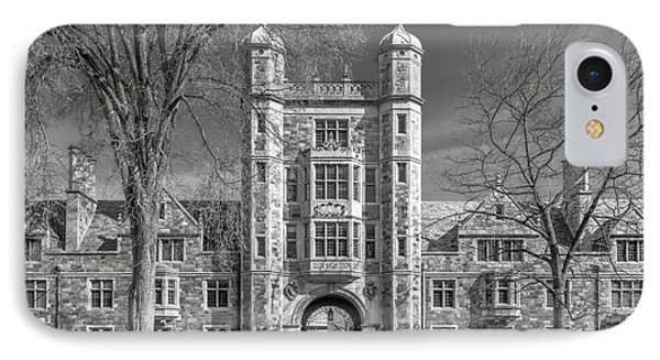 University Of Michigan Law Quad IPhone Case by University Icons