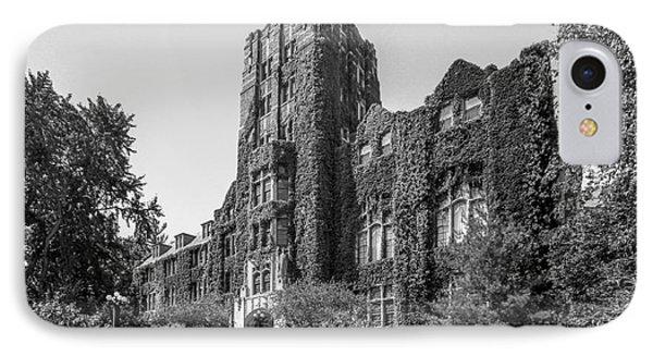 University Of Michigan Michigan Union IPhone Case by University Icons