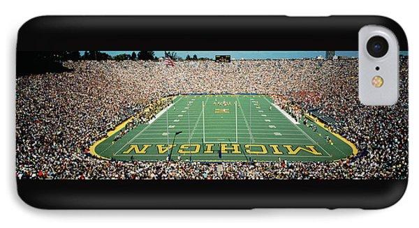 University Of Michigan Stadium, Ann IPhone 7 Case by Panoramic Images