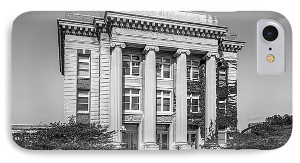 University Of Minnesota Johnston Hall IPhone Case by University Icons