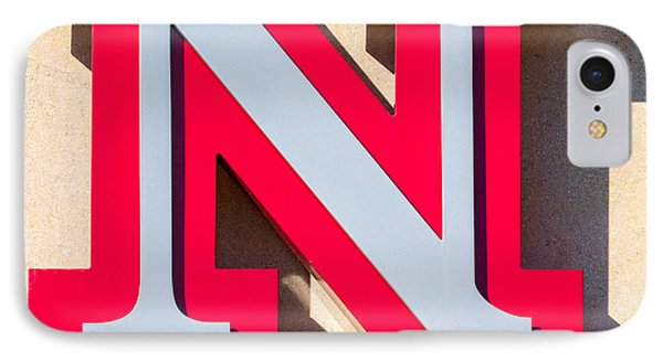 UNL IPhone Case by Jerry Fornarotto