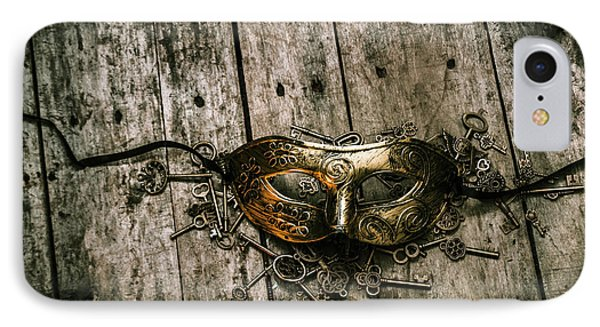 Unlocking A Golden Mystery IPhone Case by Jorgo Photography - Wall Art Gallery