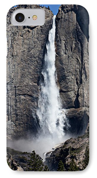 Upper Yosemite Falls Phone Case by Garry Gay