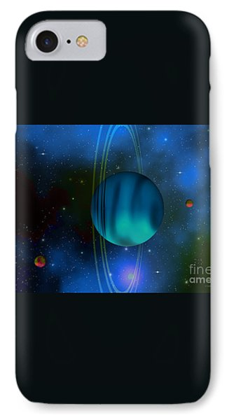 Uranus Phone Case by Corey Ford