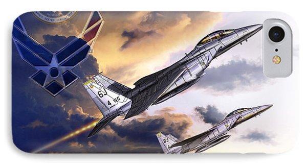 Us Air Force Phone Case by Kurt Miller