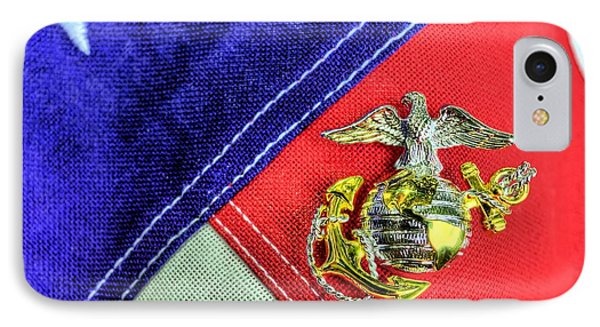 Us Marine Corps IPhone Case by JC Findley