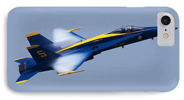 Us Navy Blue Angels High Speed Pass IPhone Case by Dustin K Ryan
