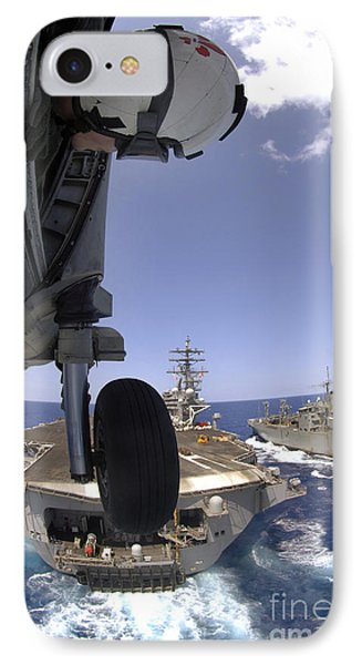 U.s. Navy Petty Officer Leans Phone Case by Stocktrek Images