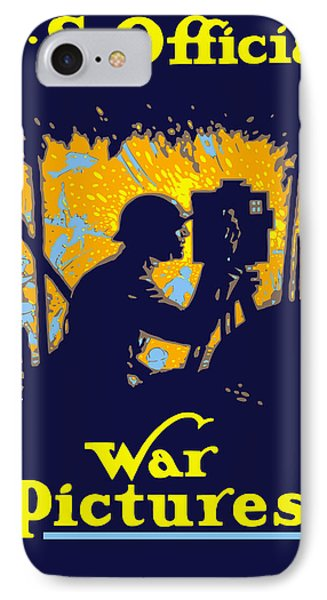 U.s. Official War Pictures Phone Case by War Is Hell Store