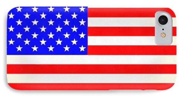 Usa Flag  - Vivid Free Style -  - Pa IPhone Case by Leonardo Digenio