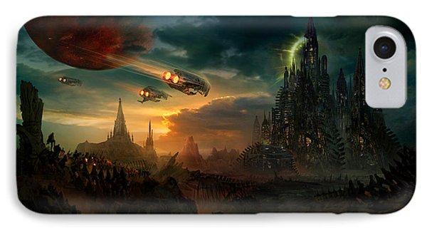 Utherworlds Sosheskaz Falls IPhone Case by Philip Straub