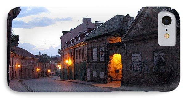 Uzupis Street. Old Vilnius. Lithuania. IPhone Case by Ausra Huntington nee Paulauskaite
