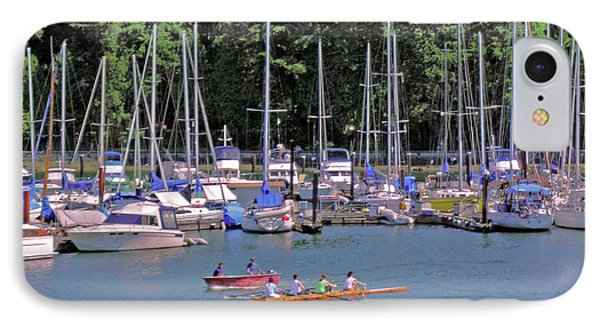 Vancouver Marina No. 1 IPhone Case by Sandy Taylor