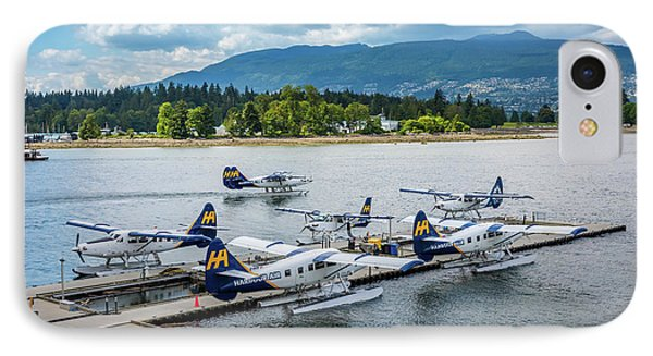 Vancouver Seaplanes IPhone Case by Inge Johnsson