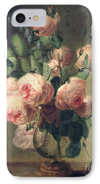 Vase Of Flowers Phone Case by Pierre Joseph Redoute