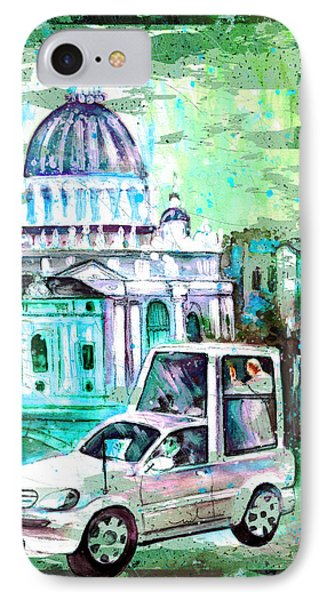 Vatican Authentic Madness IPhone Case by Miki De Goodaboom