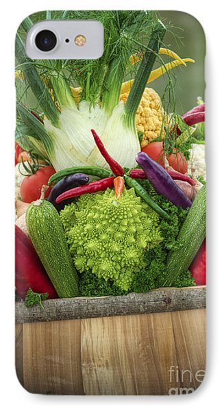 Veg Trug IPhone Case by Tim Gainey