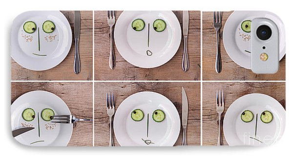 Vegetable Faces IPhone Case by Nailia Schwarz
