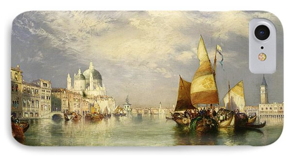 Venetian Grand Canal IPhone Case by Thomas Moran