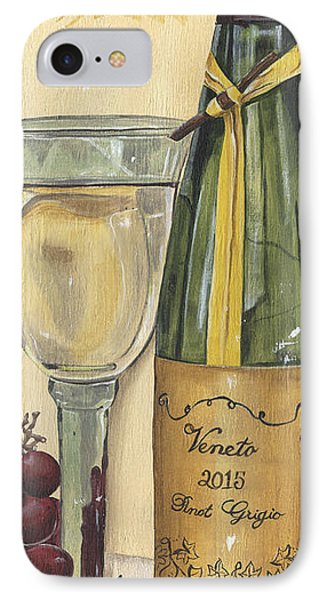 Veneto Pinot Grigio Panel IPhone Case by Debbie DeWitt
