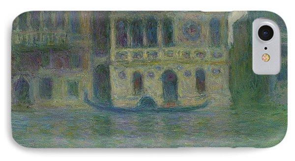 Venice, Palazzo Dario IPhone Case by Claude Monet