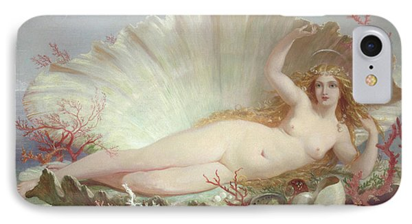 Venus IPhone Case by Henry Courtney Selous