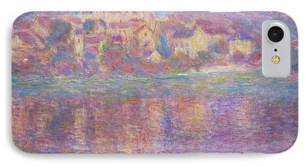 Vetheuil, Sunset, Soleil Couchant, By Claude Monet, Circa 1900,  IPhone Case by Peter Barritt