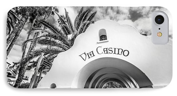 Via Casino Archway Catalina Island Photo IPhone Case by Paul Velgos