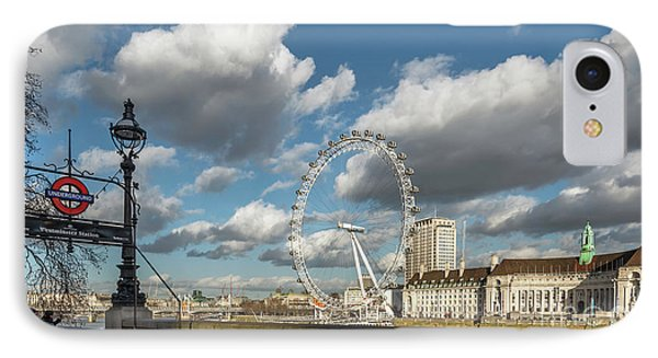 Victoria Embankment IPhone 7 Case by Adrian Evans