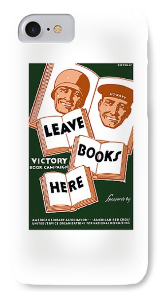 Victory Book Campaign - Wpa IPhone Case by War Is Hell Store