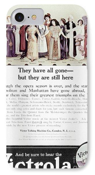 Victrola Advertisement Phone Case by Granger