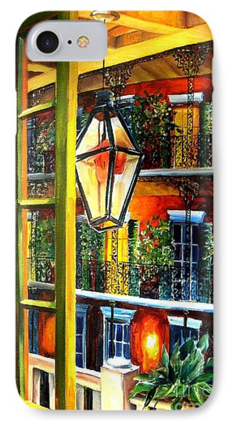 View From A French Quarter Balcony IPhone Case by Diane Millsap
