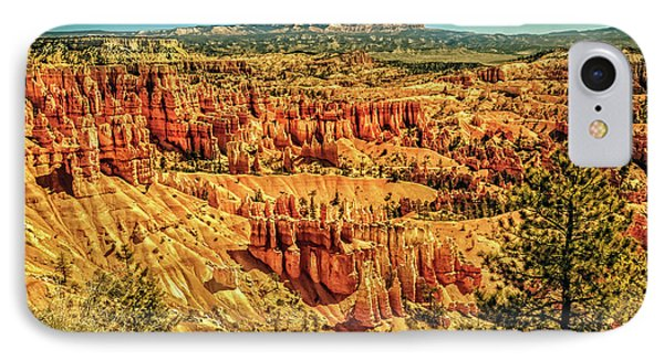 View From Sunset Point IPhone Case by Robert Bales