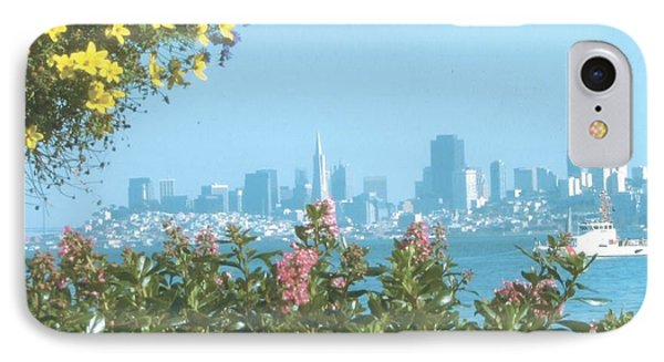 View Of San Francisco From Bridgeway, Sausalito, Ca. 94965 IPhone Case by Rich Bertolina