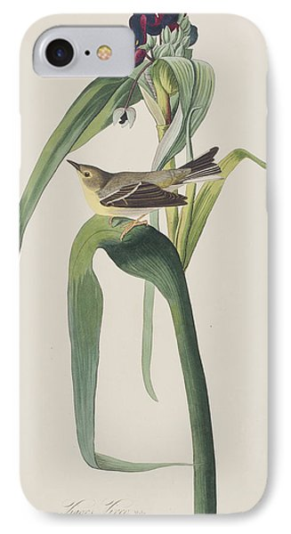 Vigor's Warbler IPhone 7 Case by John James Audubon