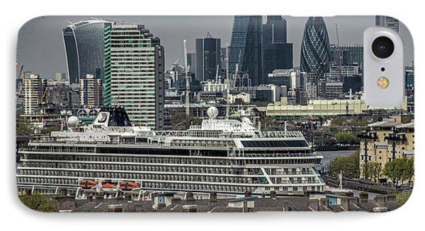 Viking Sea Cruise Ship IPhone Case by Martin Newman