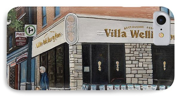 Villa Wellington In Verdun IPhone Case by Reb Frost