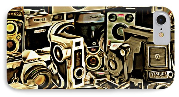 Vintage Abstract Photography 20150208 V1 Square IPhone Case by Home Decor