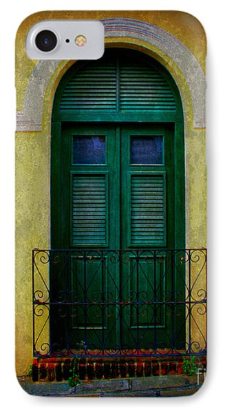 Vintage Arched Door Phone Case by Perry Webster