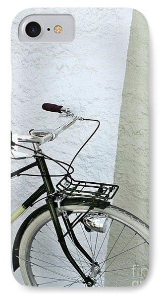 Vintage Bicycle IPhone Case by Carlos Caetano
