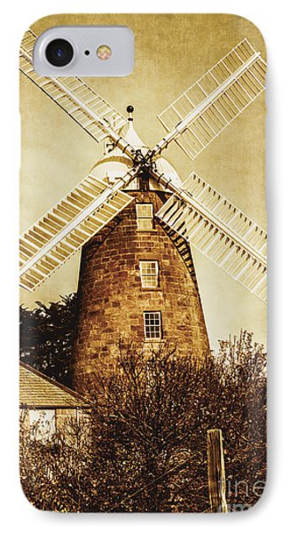 Vintage Flour Mill IPhone Case by Jorgo Photography - Wall Art Gallery