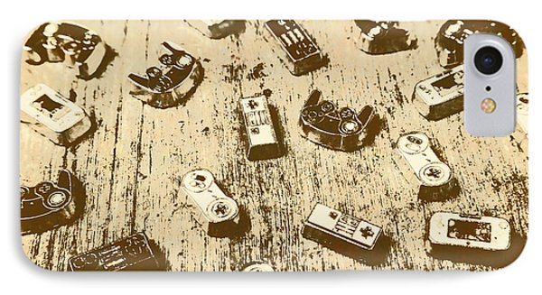 Vintage Gamers IPhone Case by Jorgo Photography - Wall Art Gallery