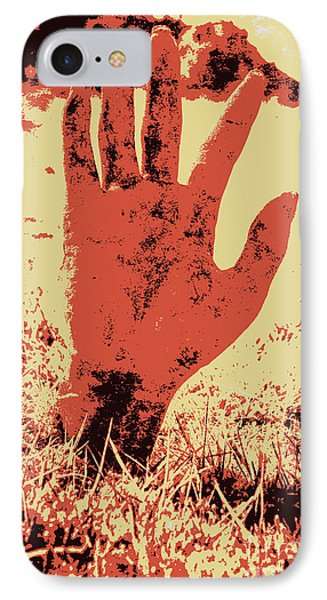 Vintage Horror Poster Art  IPhone Case by Jorgo Photography - Wall Art Gallery