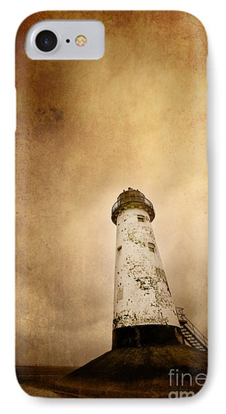 Vintage Lighthouse Phone Case by Meirion Matthias