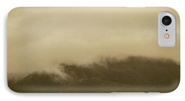 Vintage Mountains Covered By Cloud IPhone Case by Jorgo Photography - Wall Art Gallery