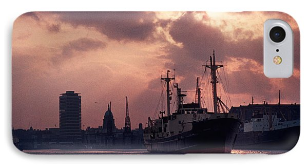 Vintage Shot Of The Guinness Boat Lady IPhone Case by Panoramic Images