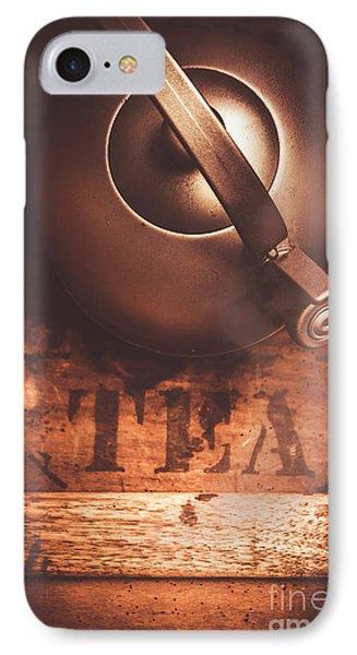 Vintage Tea Break IPhone Case by Jorgo Photography - Wall Art Gallery
