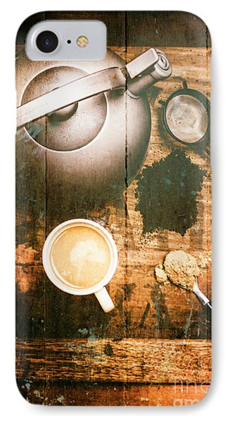 Vintage Tea Crate Cafe Art IPhone Case by Jorgo Photography - Wall Art Gallery