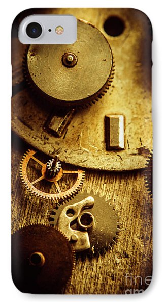Vintage Watch Parts IPhone Case by Jorgo Photography - Wall Art Gallery