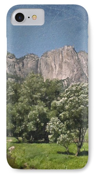 Vintage Yosemite Phone Case by Teresa Mucha